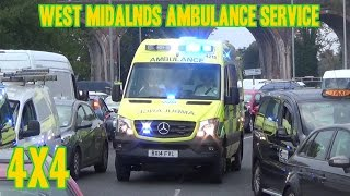 Ambulance siren - NEW 4x4 Mercedes Sprinter Emergency Ambulance(NEW [2014] - West Midlands Ambulance Service - 4215 (BX14 FVL) - 4x4 Emergency Off-Road Ambulance - Mercedes Sprinter - On shout in Worcestershire _ ..., 2014-09-18T20:35:42.000Z)