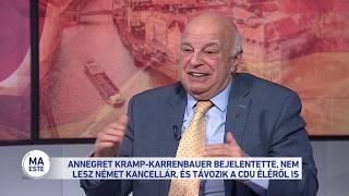 Annegret Kramp-Karrenbauer bejelentette, nem lesz német kancellár, és távozik a CDU éléről is
