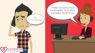 Careline365: How your Personal Alarm works!