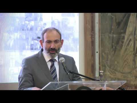 Նիկոլ Փաշինյանը մասնակցել է Creative Armenia-ի մեկ ամյակի միջոցառմանը