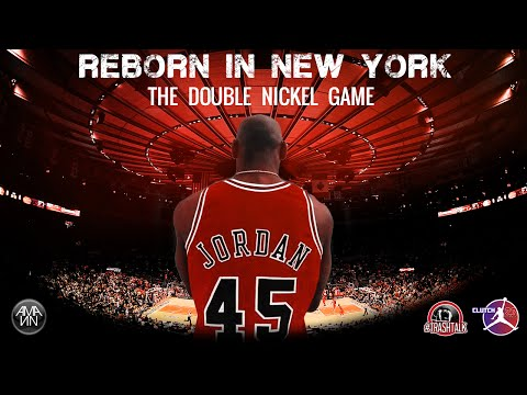 MICHAEL JORDAN REBORN IN NEW YORK 1995