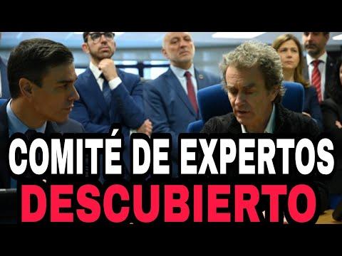 DESVELO LOS NOMBRES DEL COMITÉ DE EXPERTOS COVID-19 de SÁNCHEZ.