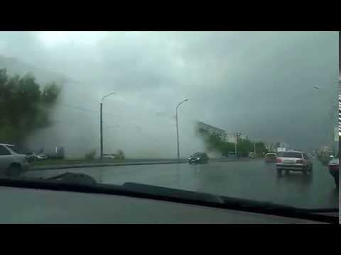 Прорыв трубы. Новосибирск