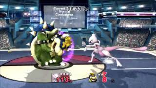 [Project M] - Mewtwo vs Bowser