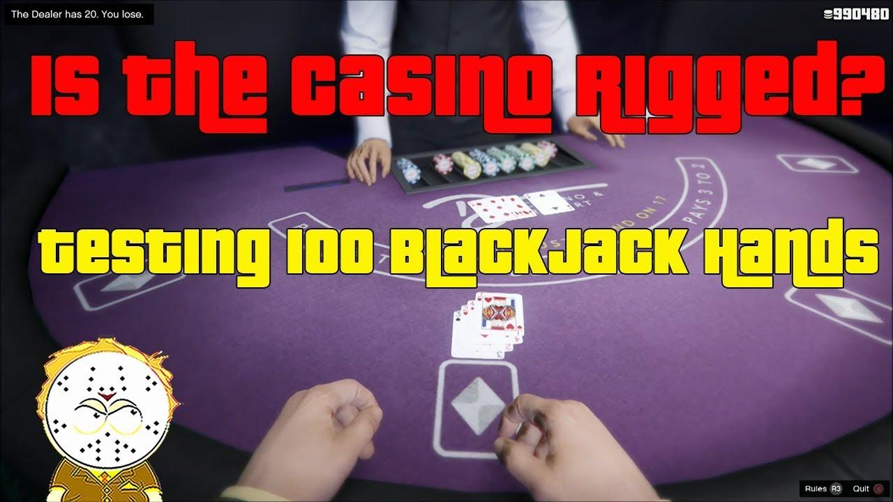 Gta Online Blackjack Rigged