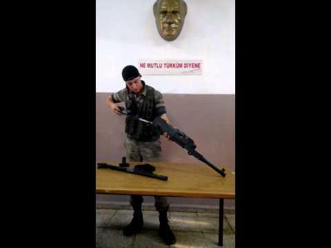 TSK Keskin Nişancı FN-MAG makinalı tüfek