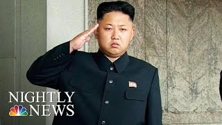 North Korea May Be President Donald Trump's First Global Crisis | NBC Nightly News