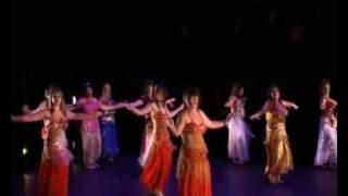 danse orientale ouverture du gala 2008 (margaux)