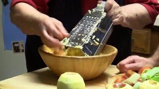 How to Grate aฑ Apple: Chef Baba Cooking Tip