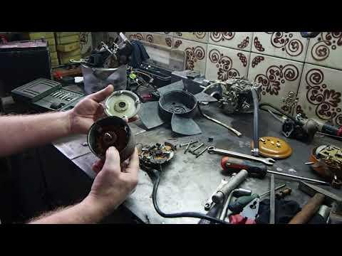 Профилактика двигателя вентилятора радиатора