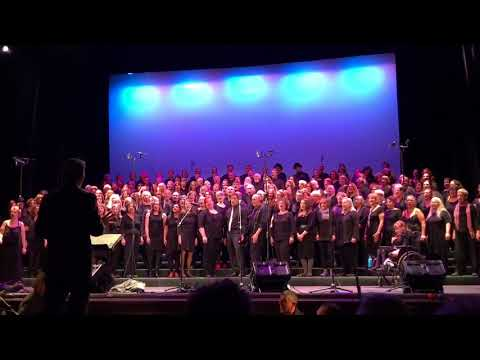 Hazy Shade of Winter — Rock Voices, Academy of Music, Northampton, MA, January 13, 2018