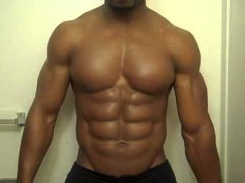 Abs 8 pack and Biceps Muscle Flexing Part 3  Pecs, Abs, Biceps Flexing