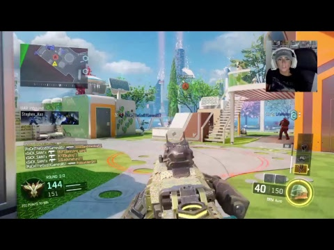 CALL OF DUTY BO3 MULTIPLAYER WITH DOOM LUCKYGIRL!!! UNLOCKING NUMBER 1 LEADERBOARD RANK!!!