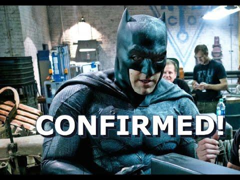 Ben Affleck Confirmed to Direct His Batman Solo Movie!