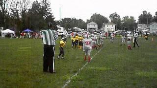 Touchdown run vs Buckeyes by #1 Rashad Debose Jr. 2012 85 lb Midwest Bearcats