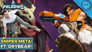 Double Sniper Onslaught Meta! Strix & Kinessa Duo Ft. Drybear! (Paladins)