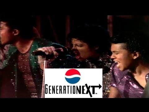 Michael Jackson Pepsi 'Convention'