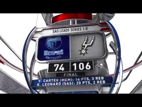 Memphis Grizzlies vs San Antonio Spurs - April 17, 2016