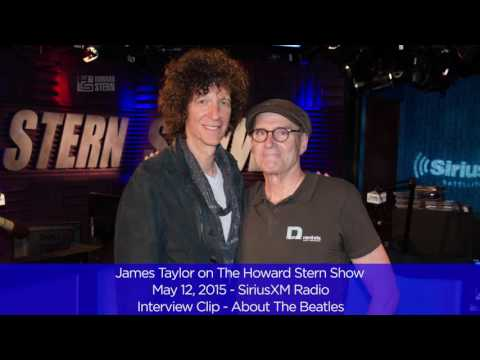 James Talks to Howard Stern about The Beatles