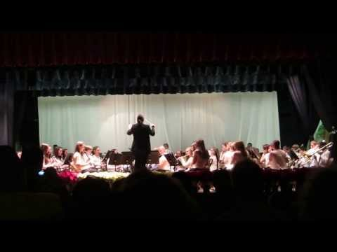 LaGrange Middle School 8th Grade Band - The Great Locomotive Chase