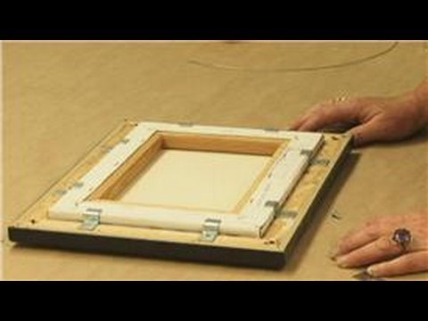 Framing : How to Frame a Canvas Print - YouTube