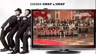 SMAPxSMAP 131021 Bistro Guest Stars Kudō Kankurō, Minagawa Sarutoki...
