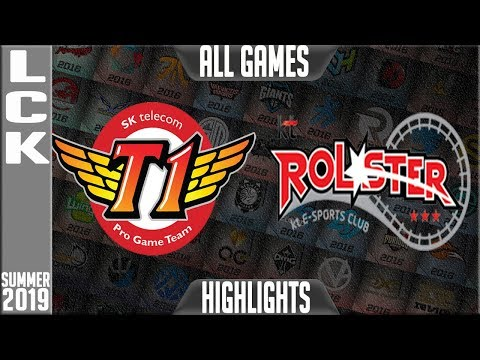 SKT vs KT Highlights ALL GAMES | LCK Summer 2019 Week 5 Day 3 | SK Telecom T1 vs KT Rolster