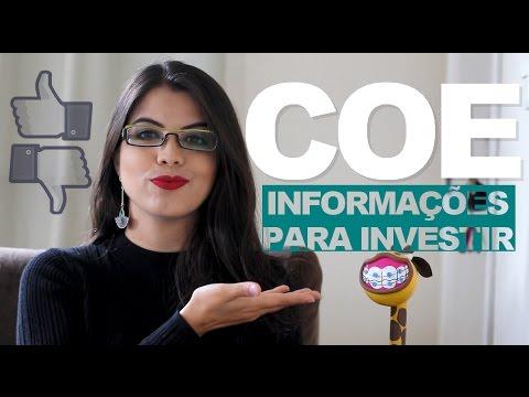 COE: Certificado de Operações Estruturadas - Informações para investir!