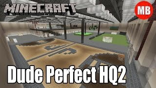 Minecraft Dude Perfect Headquarters 2 (HQ2) | New Office