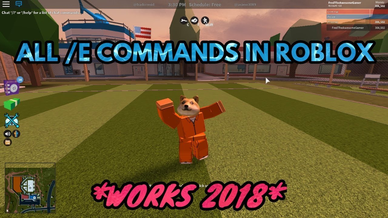 Roblox All Admin Commands 2018 All E Commands In Roblox Works 2020 Youtube