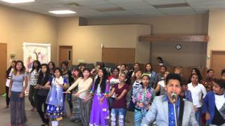Nepali Christian Song Chosen Generation practice with students @Bible School