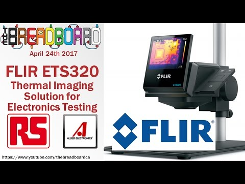 ETS320 - FLIR's first electronic test bench camera