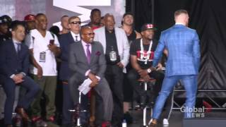 CONOR MCGREGOR SAVAGE MOMENTS AT PRESS CONFERENCE‼️