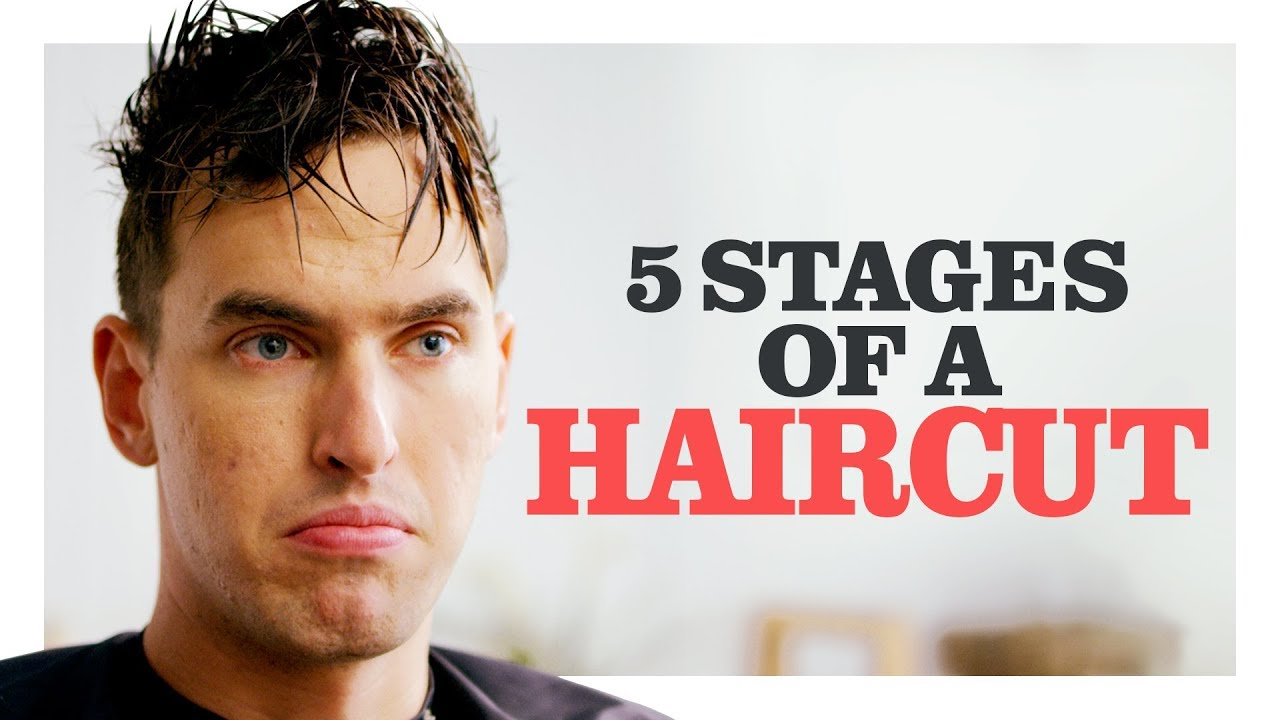 The 5 Stages Of Getting A Bad Haircut Ch Shorts