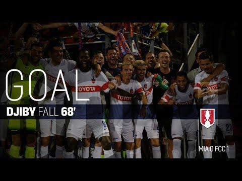 Lamar Hunt U.S. Open Cup Quarterfinals: Miami FC vs. FC Cincinnati: Djiby Fall Goal - Aug. 2, 2017