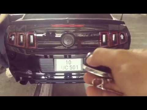 Ford Mustang Kumandalı Cutout Egzoz Sesi