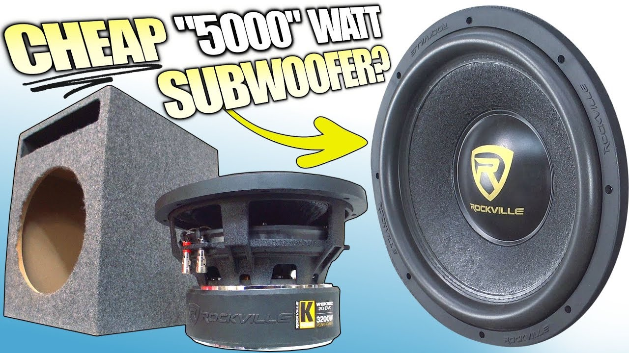 EXPOSING a Cheap Subwoofer w/ Rockville K9 Version 2 vs V1 | Blowing Subs  on 1000W & Best SPL Test?
