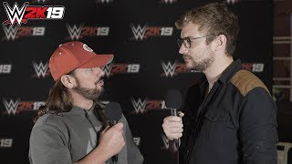 AJ Styles On If His Size Ever Held Him Back, Who Is The Next AJ Styles & WWE 2K19