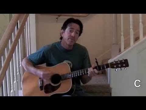 On The Steps: Wildflowers guitar lesson with chords
