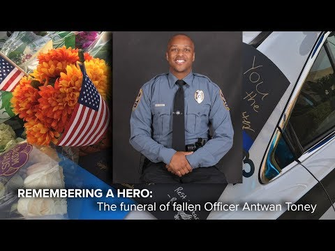 LIVE | Funeral honoring the life of Gwinnett Officer Antwan Toney