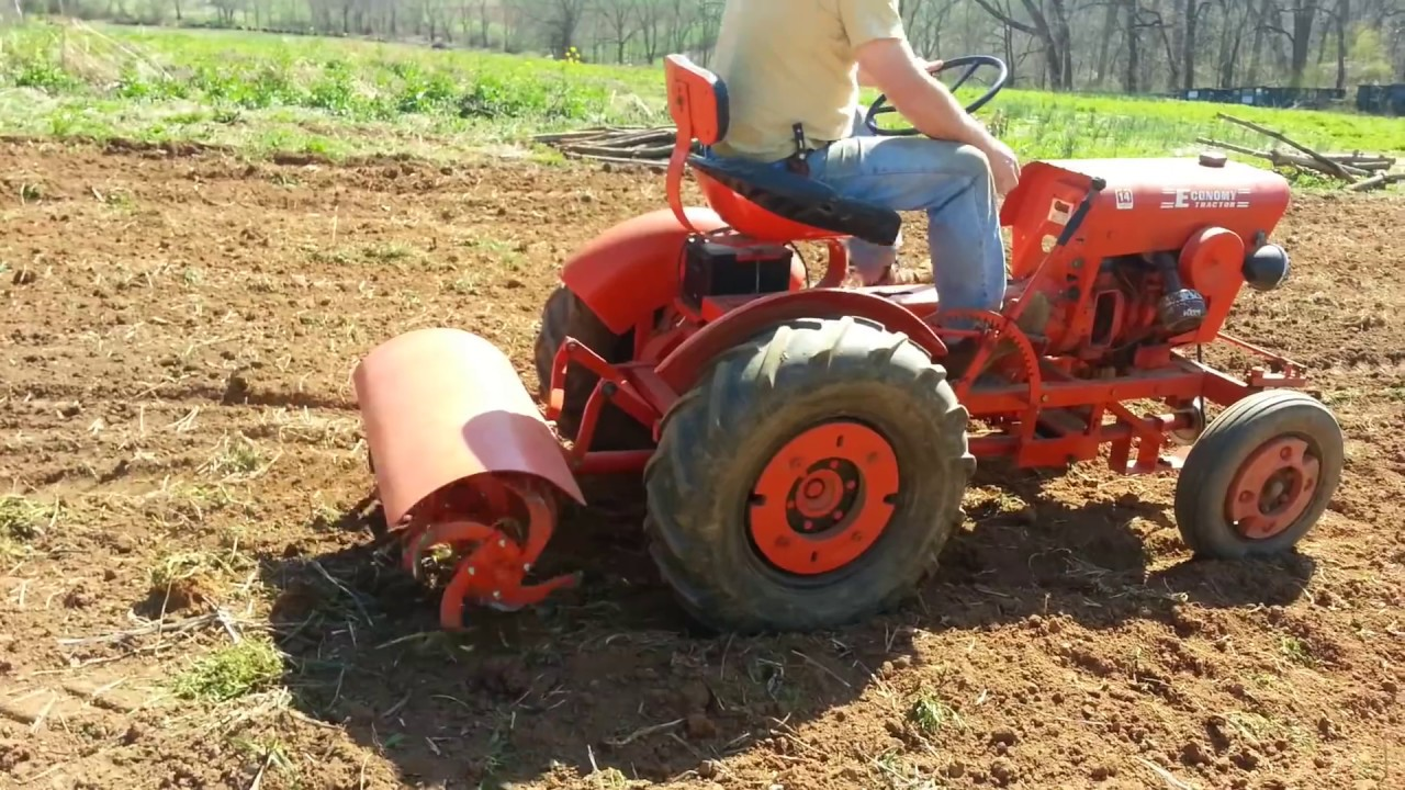 powerking tractor tiller modify to make tiller work without tandem transmission [ 1280 x 720 Pixel ]