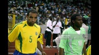 Jay Jay Okocha vs Brazil 2003 - Jay-Jay Okocha Videos