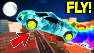 HOW TO GET TO THE MOON USING ROCKET FUEL! (Roblox Jailbreak)