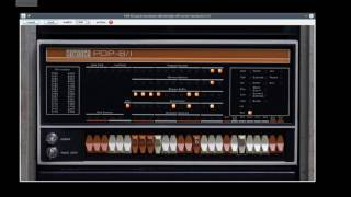 How to Program a Vintage PDP-8 via the Front Panel
