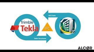Интеграция Tekla Structures и Aecosim через IFC