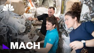 Women In Space: NASA's Awkward History With Female Astronauts | Mach | NBC News