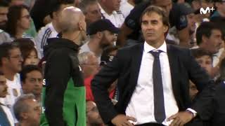 fantastic Lopetegui Simeone Mono Burgos footage here from the Madrid Derby