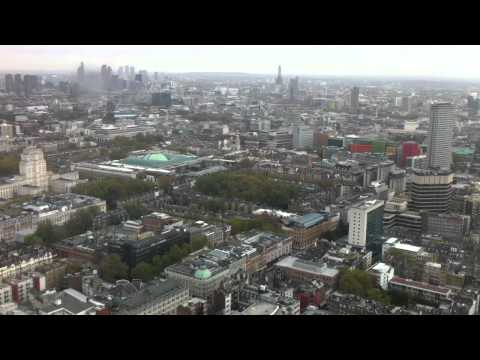 City of London from BT Tower