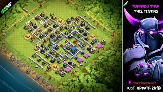 TH12 Trophy Base | Troll Base | October Update | Tornado Trap - Clash Of Clans