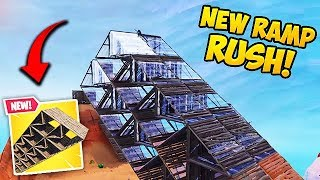 *NEW* EPIC RAMP RUSHING TRICK! - Fortnite Funny Fails and WTF Moments! #425